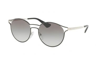 f6ab6daff32 germany prada cinema pr62ss sunglasses 1ab0a7 53 black silver frame grey  gradient lenses b4fde 23ffb