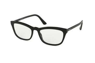 3eb369b06b9f Prada CONCEPTUAL PR10VV Eyeglass Frames 1AB1O1-54 - Black