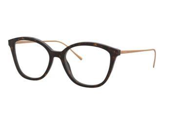 2025b87e714b Prada CONCEPTUAL PR11VVF Eyeglass Frames 2AU1O1-53 - Havana