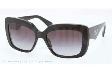 48c1c5e4a1 Prada HANDBAG PR03QS Sunglasses 1AB0A7-55 - Black Frame