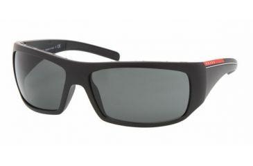 a79ee3265a37 Prada Linea Rosa PS 01LS Sunglasses Styles - Matte Black+black Rubb. Frame /