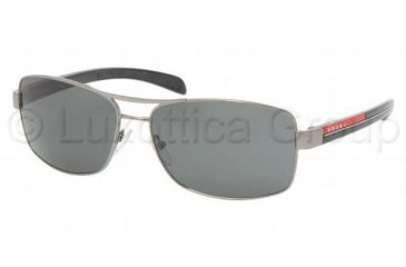 315150b02ae8 Prada Linea Rosa Sunglasses PS50LS 1AB1A1-5915 - Gunmetal Frame, Gray Lenses