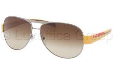 2513a926f4ee Prada Linea Rosa Sunglasses PS51LS 5AV6S1-5914 - Gunmetal Brown Gradient