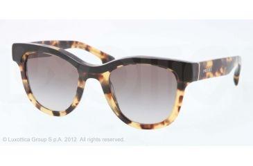 Prada PORTRAIT PR27PS Progressive Prescription Sunglasses PR27PS-NAI0A7-49 - Lens Diameter 49 mm, Lens Diameter 49 mm, Frame Color Top Black/Medium Havana
