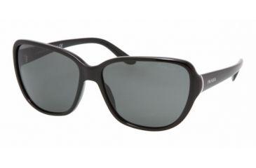 Prada PR 05MS Sunglasses Styles - Gloss Black Gray Frame, 1AB1A1-5814
