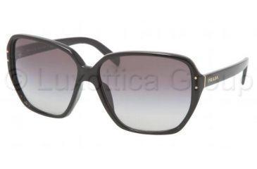 Prada PR 16MS Sunglasses Styles - Gloss Black Frame, 1AB3M1-6013