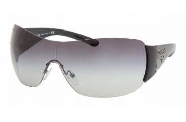 Prada PR 22MS Sunglasses Styles - Black Frame, Gray Gradient Lens 1AB3M1-0135