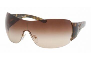Prada PR 22MS Sunglasses Styles - Havana Frame, Brown Gradient Lens 2AU6S1-0135