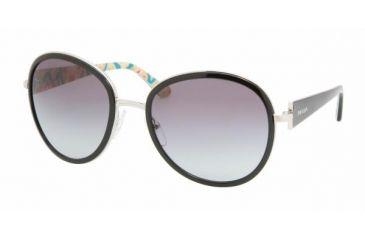 Prada PR 51NS Sunglasses Styles - Silver Frame / Gray Gradient Lenses, 1BC3M1-5720