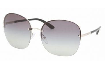 Prada PR 53NS Sunglasses Styles - Silver Gray Gradient Frame, 1BC3M1-6316