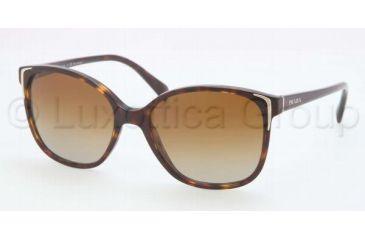 46982dec4e9 Prada PR01OS Sunglasses 2AU6E1-5517 - Havana Frame