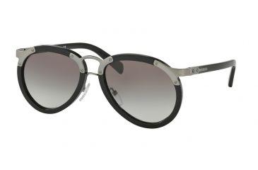 ef5deb5db0 Prada PR01TS Sunglasses 1AB0A7-56 - Black Frame