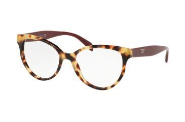 11d84704b46 Prada PR01UV Progressive Prescription Eyeglasses 7S01O1-52 - Medium Havana  Frame