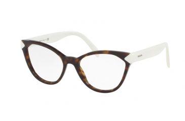 af61a6e43ed Prada PR02TV Eyeglass Frames 2AU1O1-52 - Havana Frame