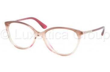 Prada PR03OV Single Vision Prescription Eyeglasses EAN1O1-5116 - Currant/Honey/Currant
