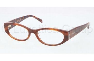 Prada PR03PV Bifocal Prescription Eyeglasses MAU1O1-5117 - , Demo Lens Lenses