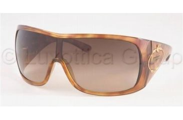 Prada PR04HS Sunglasses 4BW6S1-0135 - Light Havana Brown Gradient