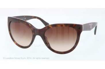 Prada PR05PS Bifocal Prescription Sunglasses PR05PS-2AU6S1-55 - Lens Diameter 55 mm, Frame Color Havana