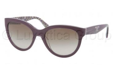 Prada PR05PS Bifocal Prescription Sunglasses PR05PS-MAT1X1-5520 - Lens Diameter 55 mm, Frame Color Top Violet