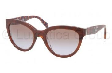 Prada PR05PS Bifocal Prescription Sunglasses PR05PS-MAU6P1-5520 - Lens Diameter 55 mm, Frame Color Top Havana/Brown