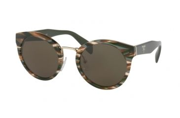 9bc69df16720 Prada PR05TS Single Vision Prescription Sunglasses PR05TS-VAO4J1-53 - Lens  Diameter 53 mm