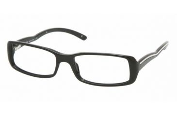 Prada PR06MV #1AB1O1 - Gloss Black Frame, Demo Lens Lenses