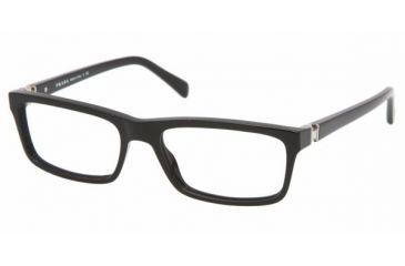 Prada PR06NV #1AB1O1 - Gloss Black Frame, Demo Lens Lenses