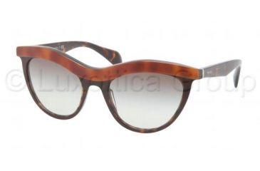 Prada PR06PS Bifocal Prescription Sunglasses PR06PS-MA40A7-5419 - Lens Diameter 54 mm, Frame Color Top Light Havana
