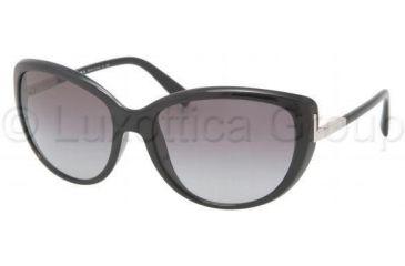 Prada PR07OS Bifocal Prescription Sunglasses PR07OS-1AB3M1-5917 - Frame Color Black, Lens Diameter 59 mm