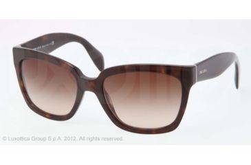 Prada PR07PS Progressive Prescription Sunglasses PR07PS-2AU6S1-56 - Lens Diameter 56 mm, Lens Diameter 56 mm, Frame Color Havana