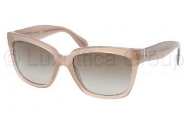 Prada PR07PS Progressive Prescription Sunglasses PR07PS-MAR1X1-5618 - Lens Diameter 56 mm, Frame Color Opal Olive Green