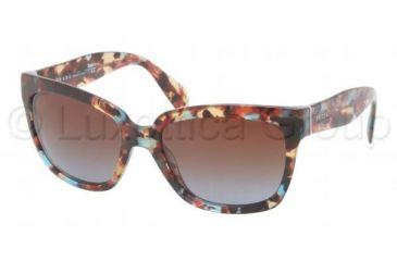 Prada PR07PS Progressive Prescription Sunglasses PR07PS-NAG0A4-5618 - Lens Diameter 56 mm, Frame Color Havana Spotted Blue