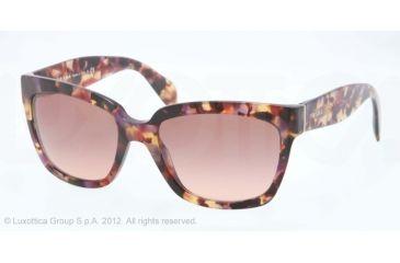 Prada PR07PS Progressive Prescription Sunglasses PR07PS-PDN0A5-56 - Lens Diameter 56 mm, Lens Diameter 56 mm, Frame Color Havana Spotted Pink