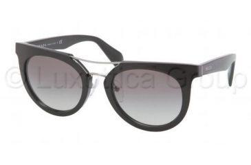 Prada PR08PS Bifocal Prescription Sunglasses PR08PS-1AB3M1-5121 - Lens Diameter 51 mm, Frame Color Black