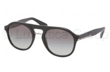 Prada PR09PS Bifocal Prescription Sunglasses PR09PS-1AB0A7-5120 - Frame Color Black, Lens Diameter 51 mm