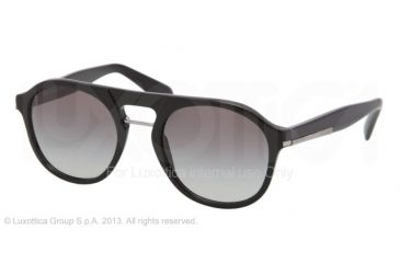 Prada PR09PS Bifocal Prescription Sunglasses PR09PS-1AB0A7-54 - Lens Diameter 54 mm, Frame Color Black