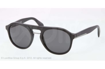 Prada PR09PS Bifocal Prescription Sunglasses PR09PS-1BO1A1-54 - Lens Diameter 54 mm, Frame Color Matte Black