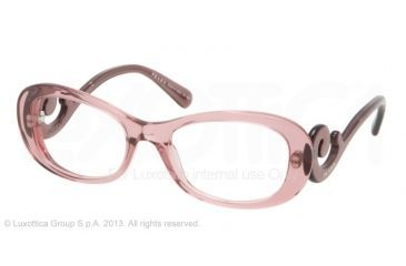 98e1790f9c Prada PR09PV Eyeglass Frames CAI1O1-54 - Pink Frame
