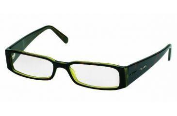 Prada PR10FV #3AY1O1 - Tortse-Green Demo Lens Frame