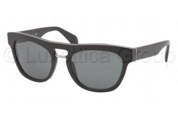 Prada PR10PS Bifocal Prescription Sunglasses PR10PS-1BO1A1-5419 - Lens Diameter 54 mm, Frame Color Matte Black