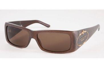 Prada PR11HS #7JY8C1 - Brown Saffiano Brown Frame