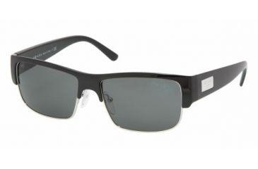 Prada PR11MS #1AB1A1 - Black Frame, Gray Lenses