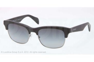 Prada PR11PS Bifocal Prescription Sunglasses PR11PS-1BO5W1-54 - Lens Diameter 54 mm, Lens Diameter 54 mm, Frame Color Matte Black