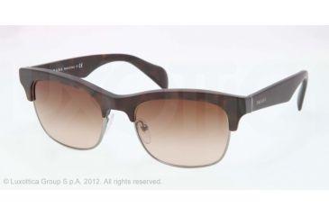 Prada PR11PS Bifocal Prescription Sunglasses PR11PS-HAQ6S1-54 - Lens Diameter 54 mm, Lens Diameter 54 mm, Frame Color Matte Havana