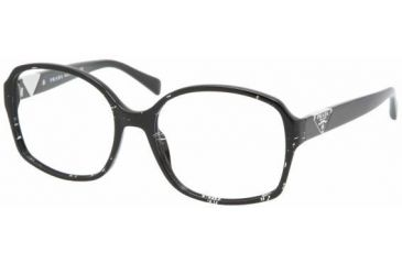 Prada PR12NV Eyeglass Frames ACF1O1-5517 - Lace Black