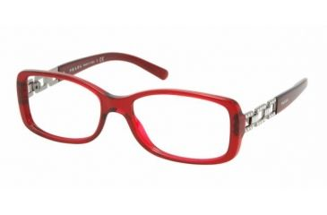 Prada PR13MV #2BM1O1 - Bordeaux Frame, Demo Lens Lenses