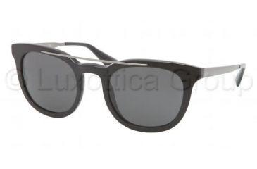 Prada PR13PS Bifocal Prescription Sunglasses PR13PS-1AB1A1-5122 - Frame Color Black, Lens Diameter 51 mm