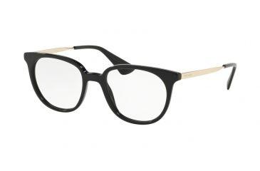 509689cb3c5e Prada PR13UV Eyeglass Frames 1AB1O1-48 - Black Frame