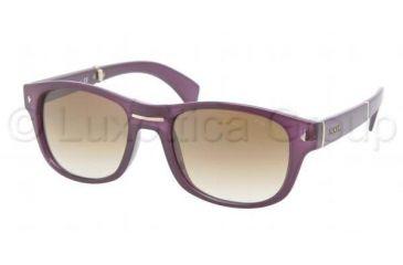 Prada PR14OS Progressive Prescription Sunglasses PR14OS-MAV0B3-5420 - Lens Diameter 54 mm, Frame Color Opal Violet