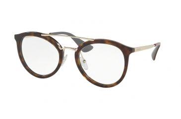 927db80357a Prada PR15TV Bifocal Prescription Eyeglasses 2AU1O1-52 - Havana Frame